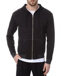 ATM French Terry Zip Hoodie - Grey