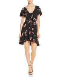 BB Dakota - Floral Canyon Tie-front Dress - Lyst