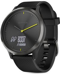 Garmin Vivomove Hr Sport Hybrid Black Smartwatch