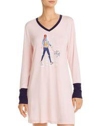 Jane And Bleecker Shopping Sleepshirt - Pink