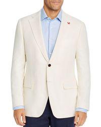 Cardinal Of Canada Hopsack Weave Regular Fit Sport Coat - White