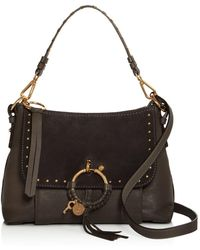 See By Chloé - Joan Small Leather & Suede Shoulder Bag - Lyst