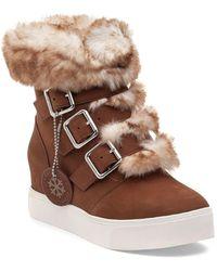 J/Slides Spat Waterproof Boots - Brown