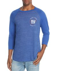 Junk Food - New York Giants Tonal Raglan Tee - Lyst
