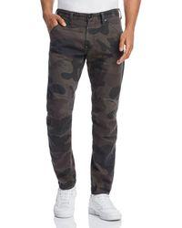 G-Star RAW - 5620 3d Slim Fit Jeans In Asfalt Camo - Lyst