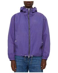 Our Legacy Facility Hooded Jacket - Purple