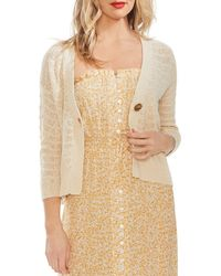 Vince Camuto - Wave-stitched Cardigan - Lyst