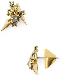 Alexis Bittar - Embellished Stud Earrings - Lyst