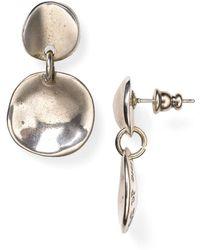 Uno De 50 Scales Drop Earrings - Metallic