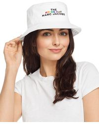 Marc Jacobs The Pride Bucket Hat - White