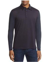 AG Green Label - Bulwark Long Sleeve Polo Shirt - Lyst