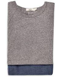UGG Steiner Pajama Gift Set - Gray