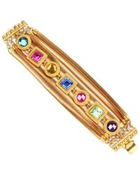 Ben-Amun - Multi Color Crystal Bracelet - Lyst
