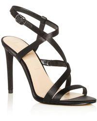 Imagine Vince Camuto Women's Ramsey Strappy High - Heel Sandals - Black