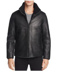 Andrew Marc - Trailblazer Faux Fur & Leather Jacket - Lyst