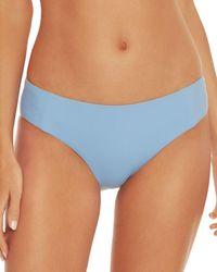 Becca Fine Line Bikini Bottom - Blue