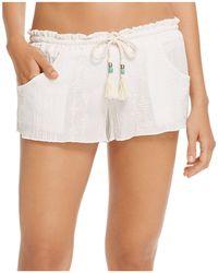Becca - Desert Vibes Swim Cover-up Shorts - Lyst