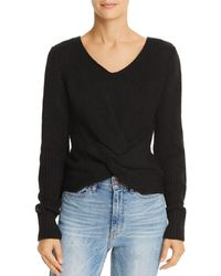 Sage the Label - Hold You Close Twist-front Sweater - Lyst