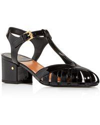 Laurence Dacade Women's Alexa Block - Heel Sandals - Black