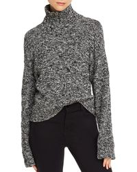 Rebecca Minkoff Montana Crosshatched - Knit Turtleneck Sweater - Multicolor