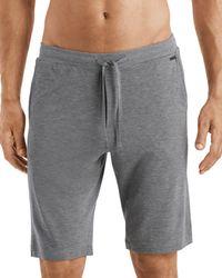 Hanro Men's Casual Shorts - Grey