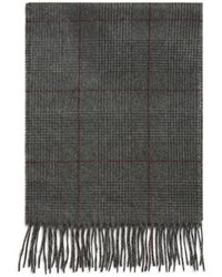 Bloomingdale's Glen Plaid Cashmere Scarf - Green