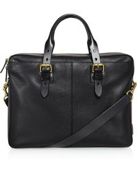 Cole Haan - Brayton Pebbled Leather Briefcase - Lyst