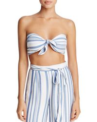 Lost + Wander - Lost And Wonder Marina Bandeau Top - Lyst