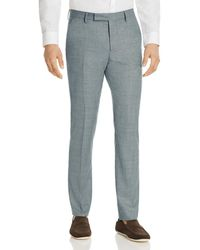 Paul Smith - Micro Check Slim Fit Suit Trousers - Lyst