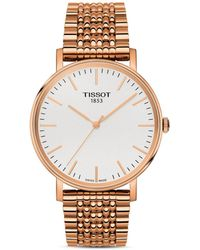 Tissot Women's Gold T109.410.33.031.00 Rose Gold-plated Stainless Steel Watch - Metallic