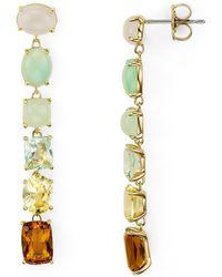 Nadri - Palma Linear Earrings - Lyst