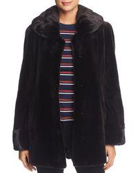 Maximilian - Sheared Mink Fur Coat - Lyst