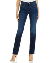 FRAME Le Mini Boot Jeans In Augusta - Blue