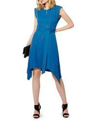 Karen Millen - Grommet-detail Dress - Lyst