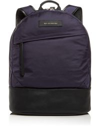 Want Les Essentiels De La Vie Kastrup Nylon Backpack - Blue