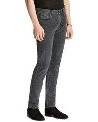 John Varvatos Chelsea Slim Fit Jeans In Oxide - Multicolour