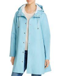 Stutterheim Moseback Raincoat - Blue