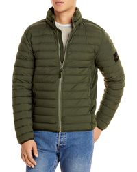 Stone Island Simple Down Jacket - Green