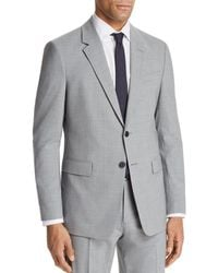 Theory Chambers Slim Fit Suit Jacket - Grey