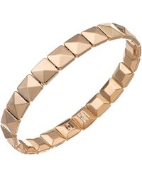 Chimento - 18k Rose Gold Armillas Collection Square Link Bracelet - Lyst