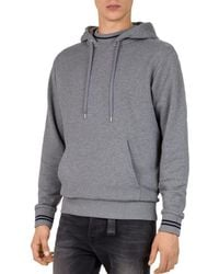 The Kooples - Embroidered & Heathered Pullover Hoodie - Lyst