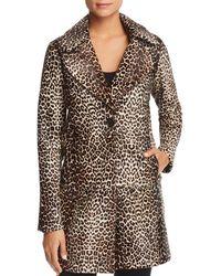 87f06bdaad75 Elie Tahari - Jaya Leopard Print Calf Hair Coat - Lyst