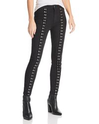 Pistola - Kiera High-rise Hook-and-eye Skinny Jeans In Hit The Pavement - Lyst