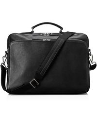 Shinola - Leather Canfield Messenger Bag - Lyst