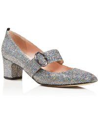 SJP by Sarah Jessica Parker Tartt Mary-Jane Court Shoes - Metallic