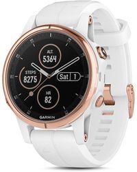 Garmin Fenix5s Plus Sapphire Premium Multisport Gps White Smartwatch