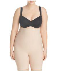 Tc Fine Intimates - Wonderful Edge Full-figure Hi-waist Thigh Slimmer Shorts - Lyst