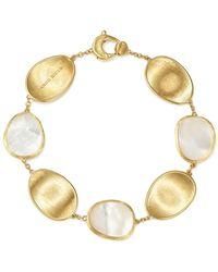 Marco Bicego 18k Yellow Gold Lunaria Mother - Of - Pearl Bracelet - Metallic