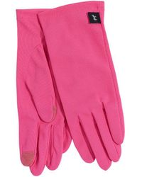 Echo Solid Summer Gloves - Pink