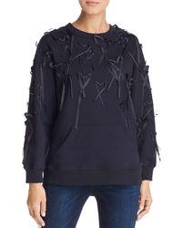 ESCADA - Elup Heart Appliqué Sweatshirt - Lyst